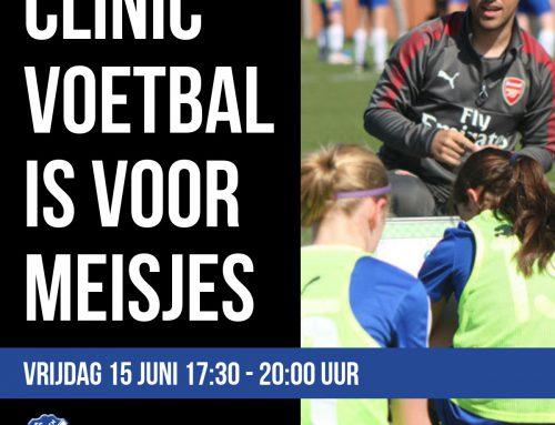 Clinic Voetbal is voor Meisjes 2018